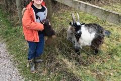 Boris having fun at Cattle Coutnry