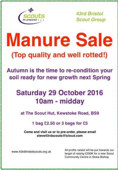 Manure Sale a Hit
