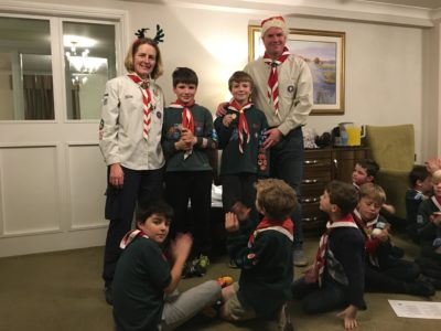 Stoke Bishop Cubs Receive Highest Award