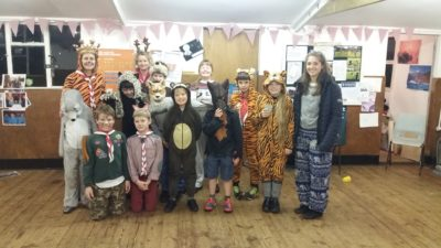 Cubs Celebrate Christmas with a Jungle Book Party
