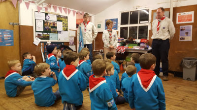 New Beavers Invested to 43rd Bristol