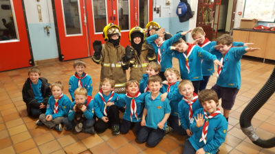 Beavers Fire Station Trip