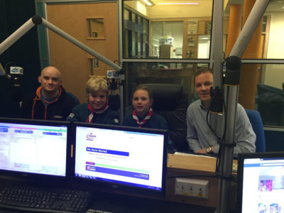 Live Radio Interview for 43rd Bristol Scouts
