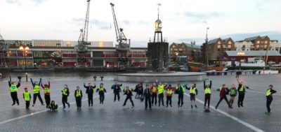 43rd Scouts Explore Bristols Floating Harbour