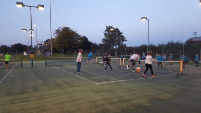 Tuesday Beavers take to tennis…